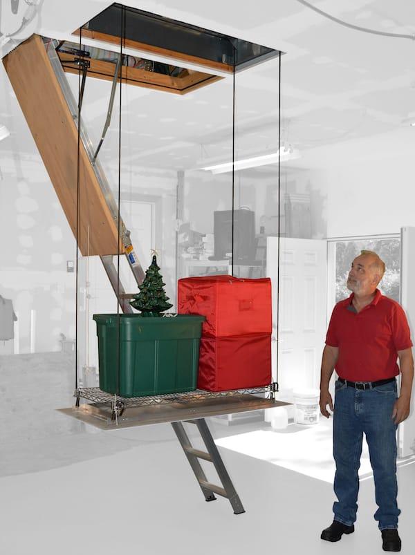 Attic for Seasonal Storage